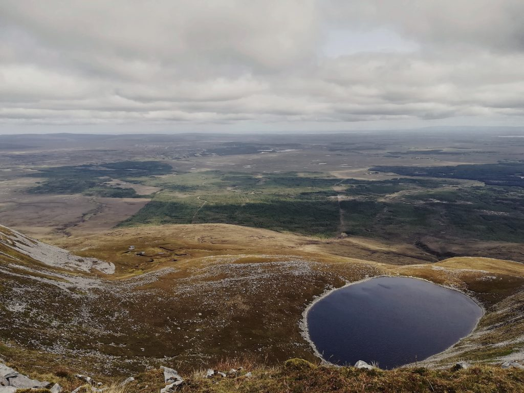 View of Lake from Height