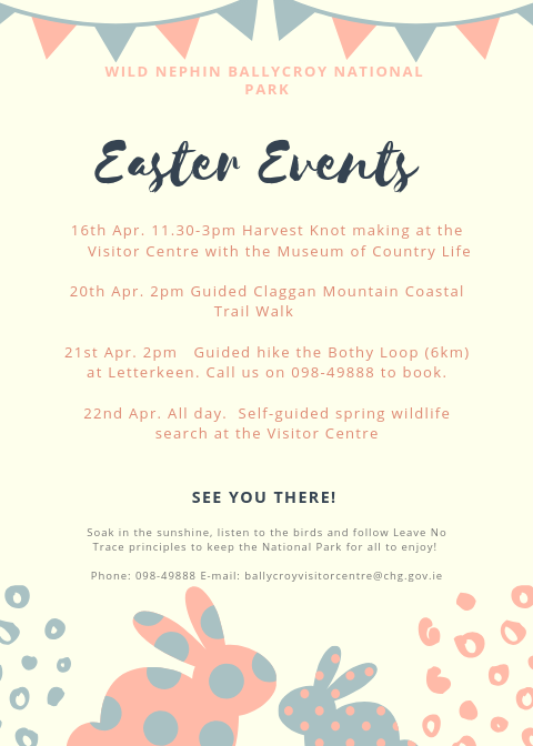Easter Events Poster 2019