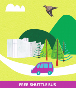 Free Shuttle Bus Poster