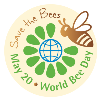 Save the Bees - World Bee Day Sticker